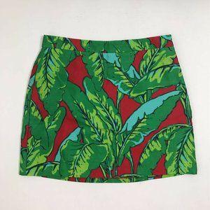Vineyard Vines A Line Skirt Floral Print Lined 8